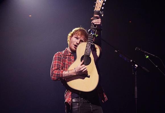 Ed Sheeran at Moda Center