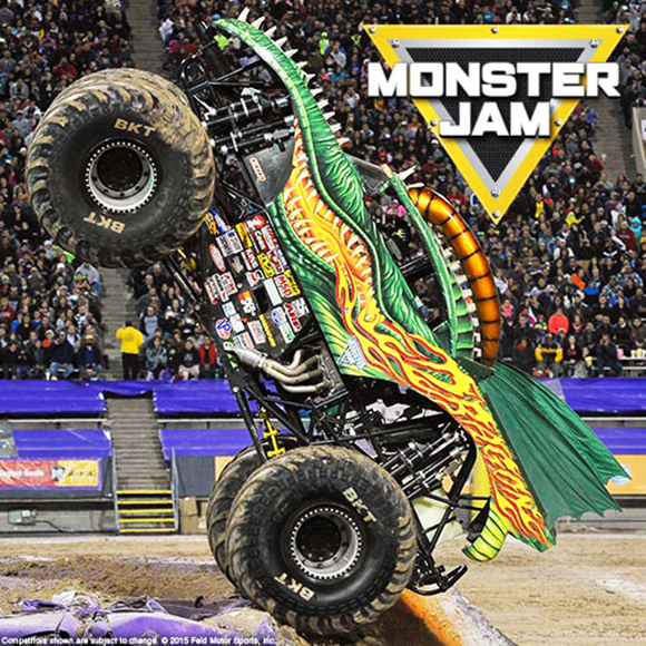 Monster Jam at Moda Center
