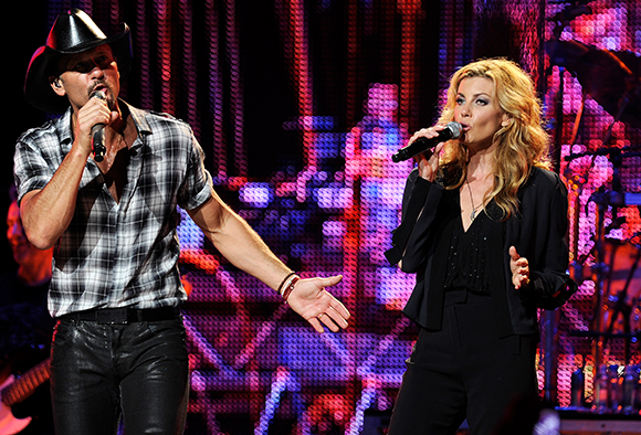 Tim McGraw & Faith Hill at Moda Center