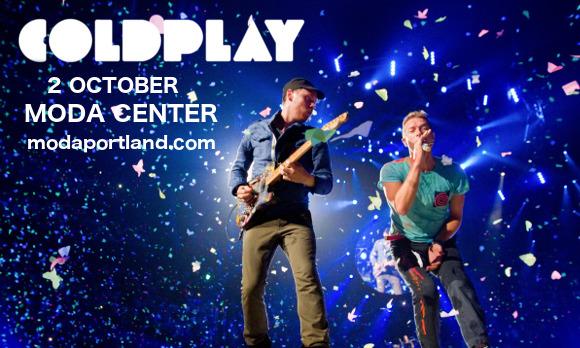 Coldplay at Moda Center