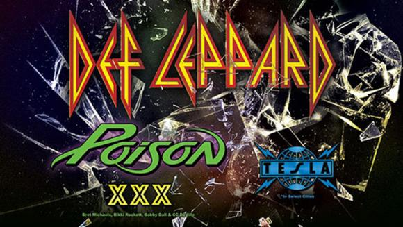 Def Leppard, Poison & Tesla  at Moda Center