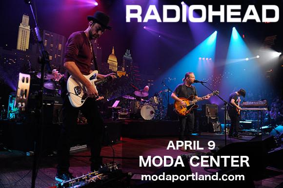 Radiohead at Moda Center
