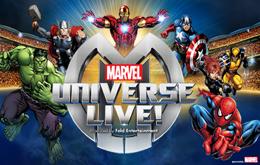 Marvel Universe Live! at Moda Center