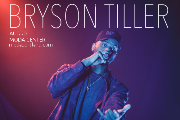 Bryson Tiller at Moda Center