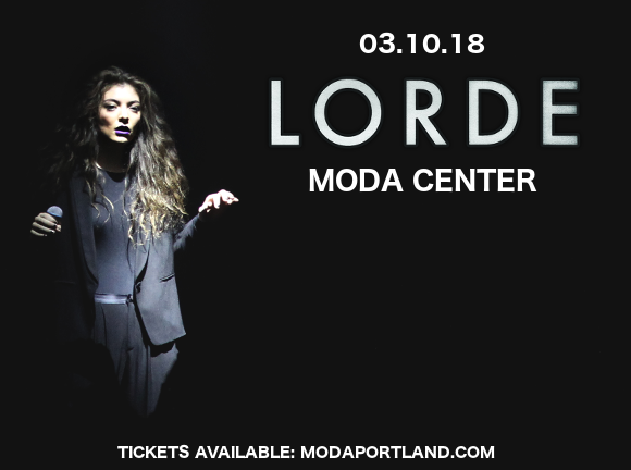 Lorde at Moda Center