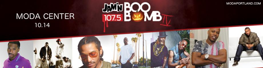 JAMN 107.5's Boo Bomb: Bone Thugs-N-Harmony, Too Short, Warren G, Ying Yang Twins & Lloyd at Moda Center