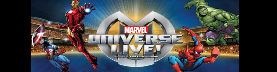 Marvel Universe Live! at Moda Center