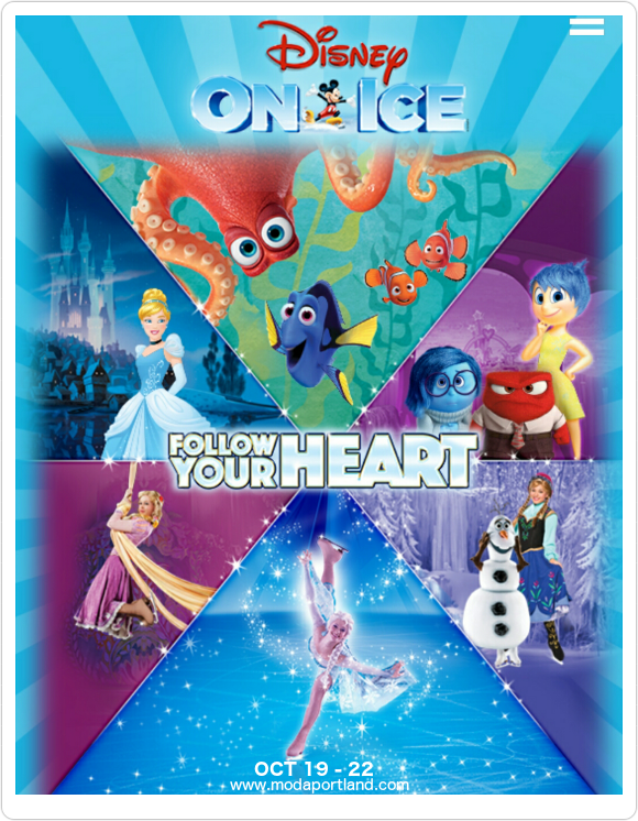 Disney On Ice: Follow Your Heart at Moda Center