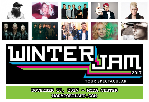 Winter Jam: Lecrae, Mac Powell, Andy Mineo & Building 429 at Moda Center
