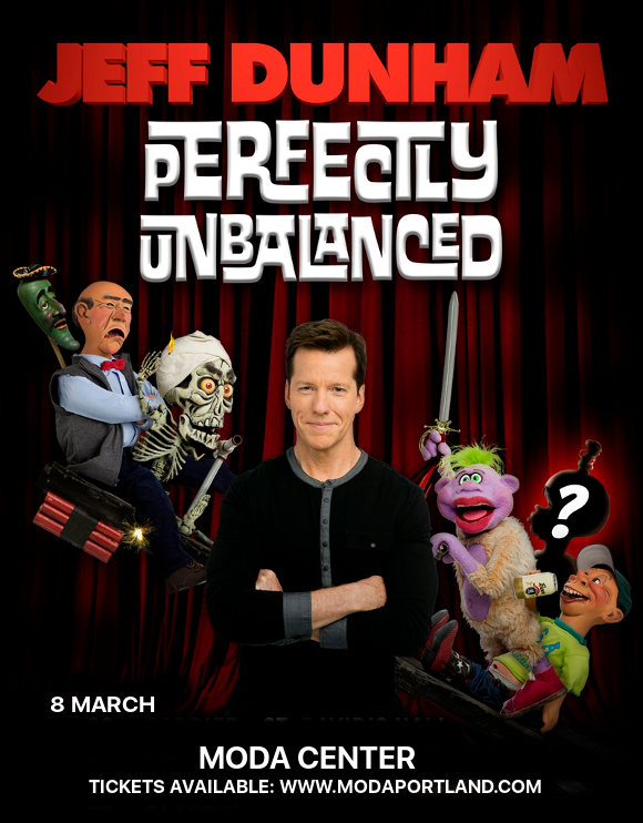 Jeff Dunham at Moda Center