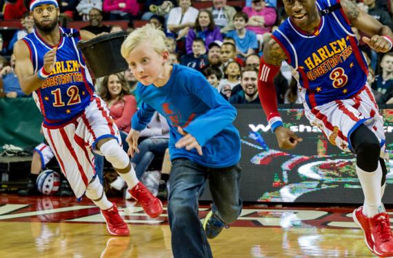 The Harlem Globetrotters at Moda Center
