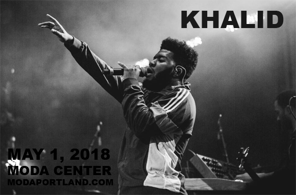Khalid at Moda Center