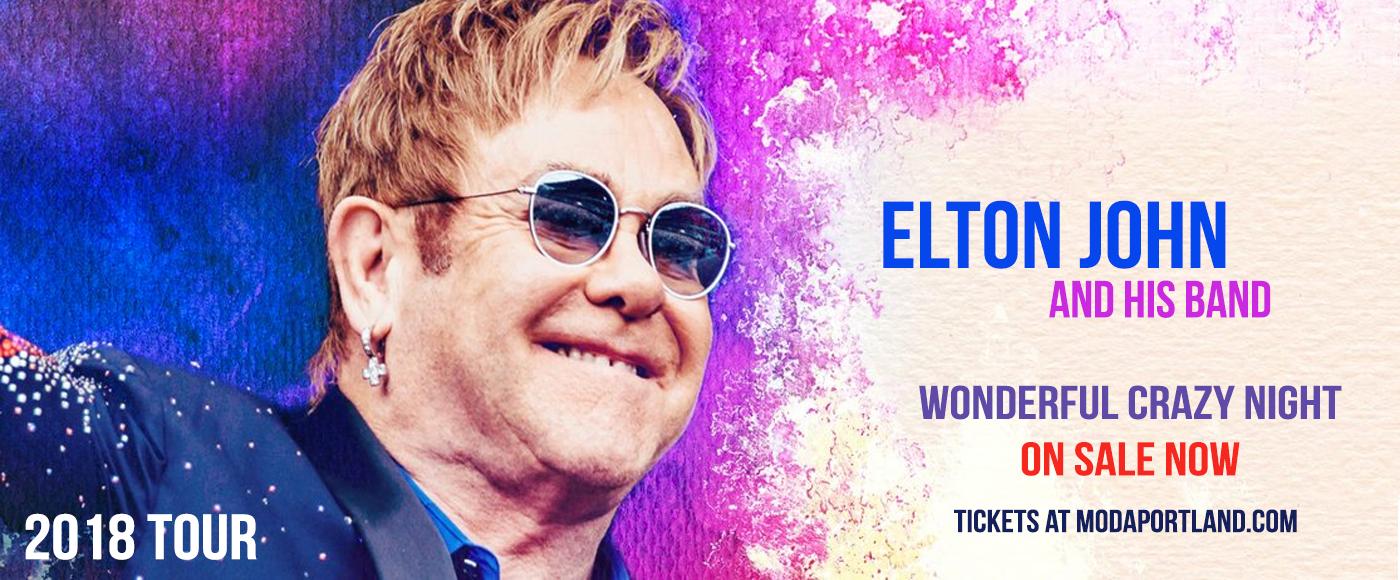 Elton John at Moda Center