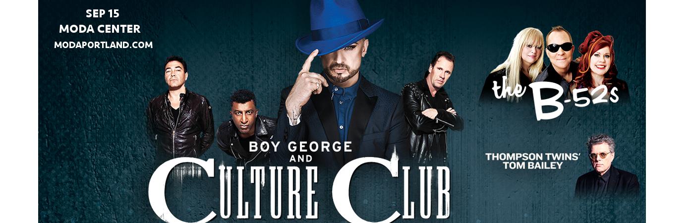 Boy George, Culture Club & The B-52s at Moda Center