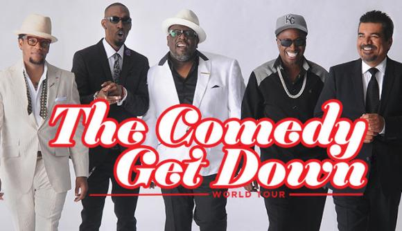 The Comedy Get Down Tour: Cedric The Entertainer, Eddie Griffin, D.L. Hughley & George Lopez at Moda Center