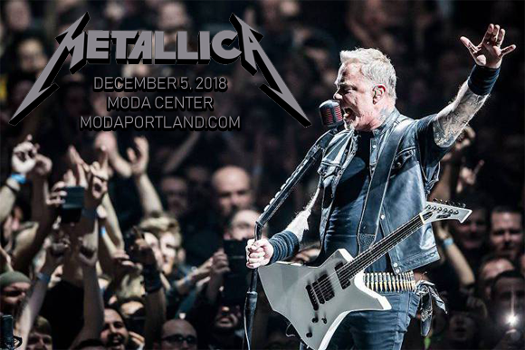 Metallica at Moda Center