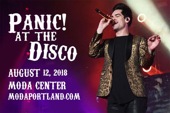 60403e8b Panic! At The Disco Tickets | 12th August | Moda Center in Portland ...