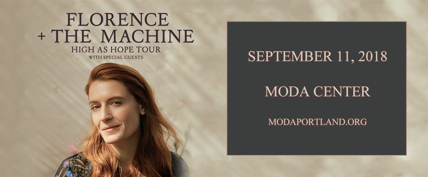 Florence and The Machine at Moda Center