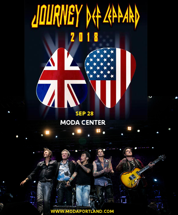 Journey & Def Leppard at Moda Center