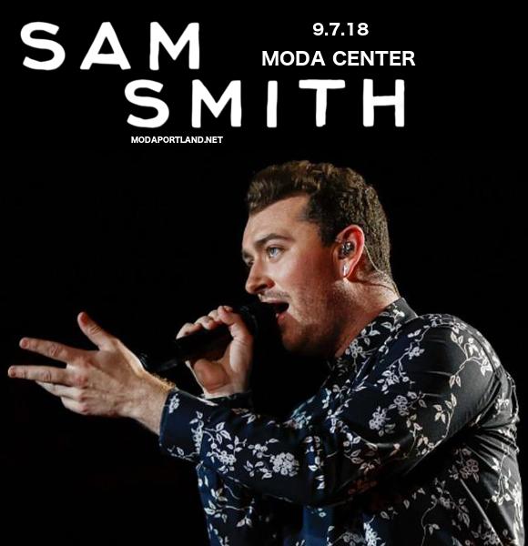 Sam Smith at Moda Center