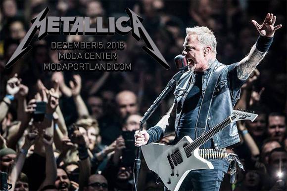 Metallica at Moda Center