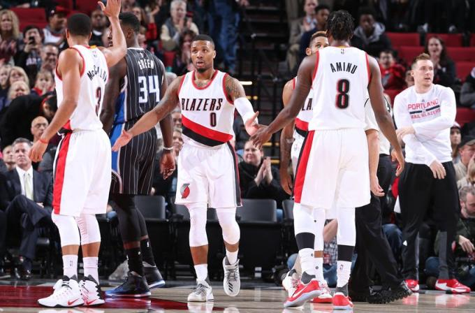 thunder vs trail blazers - photo #41