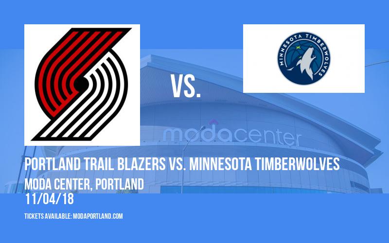 Portland Trail Blazers vs. Minnesota Timberwolves at Moda Center