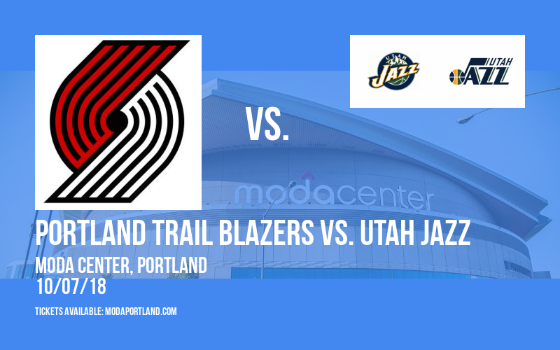 NBA Preseason: Portland Trail Blazers vs. Utah Jazz at Moda Center