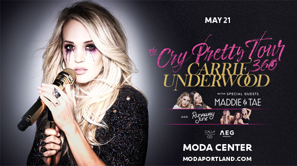 Carrie Underwood, Maddie and Tae & Runaway June at Moda Center