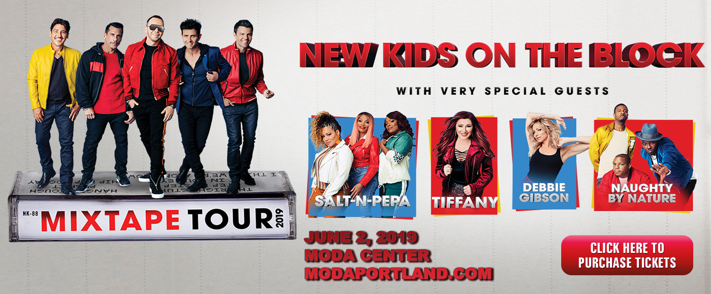 New Kids On The Block, Salt N Pepa & Naughty by Nature at Moda Center