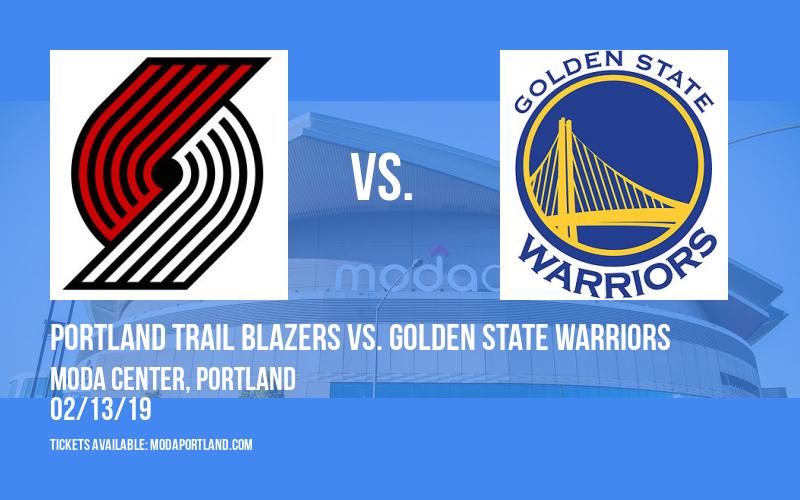 Portland Trail Blazers vs. Golden State Warriors at Moda Center