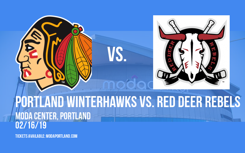 Portland Winterhawks vs. Red Deer Rebels at Moda Center