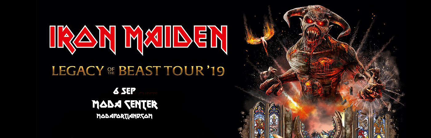 Iron Maiden at Moda Center