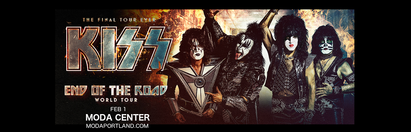 Kiss at Moda Center