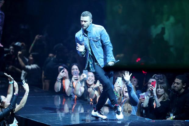 Justin Timberlake at Moda Center