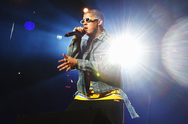 Bad Bunny at Moda Center