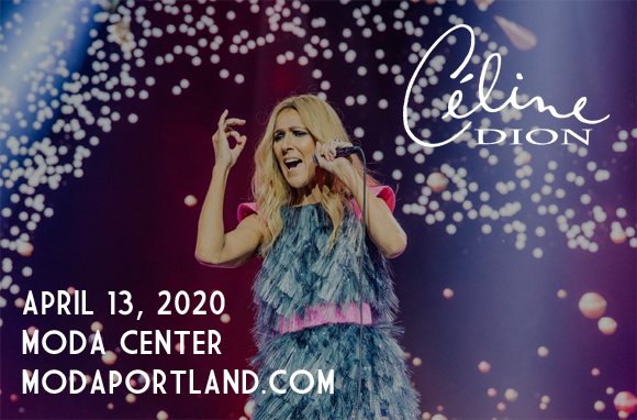 Celine Dion at Moda Center