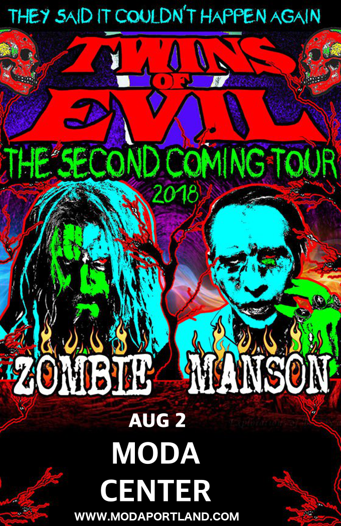 Rob Zombie & Marilyn Manson at Moda Center