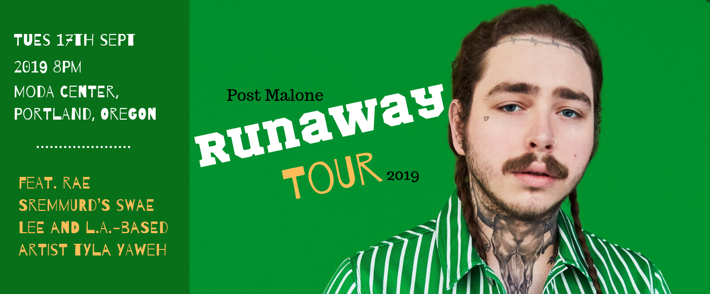 Post Malone at Moda Center