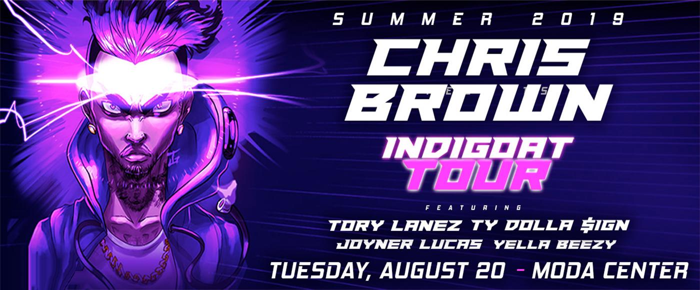 Chris Brown, Tory Lanez, Ty Dolla Sign & Joyner Lucas at Moda Center