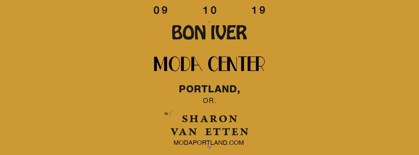 Bon Iver at Moda Center