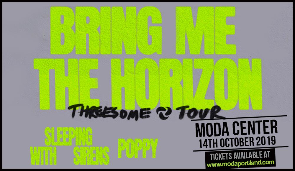 Bring Me The Horizon, Sleeping With Sirens & Poppy at Moda Center