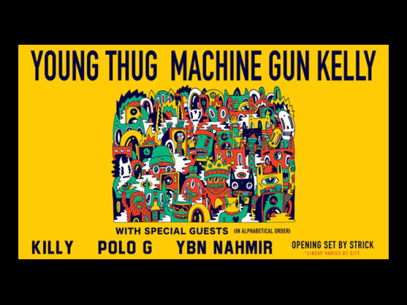Young Thug & Machine Gun Kelly at Moda Center