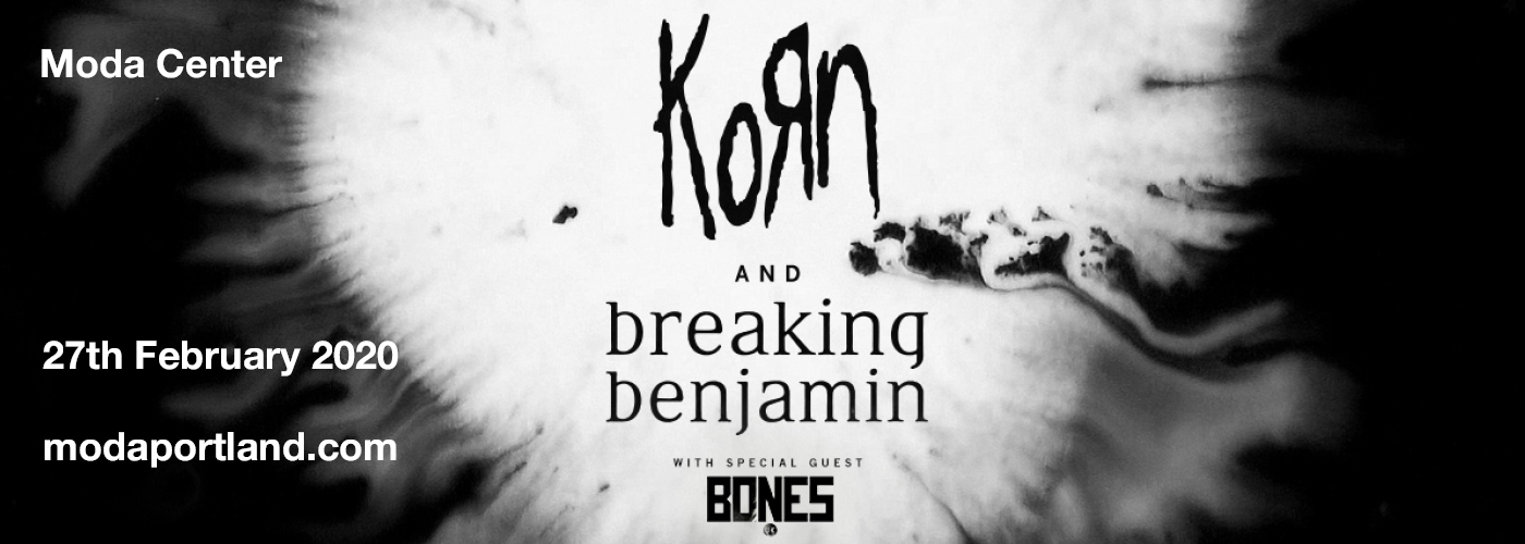 Korn & Breaking Benjamin at Moda Center