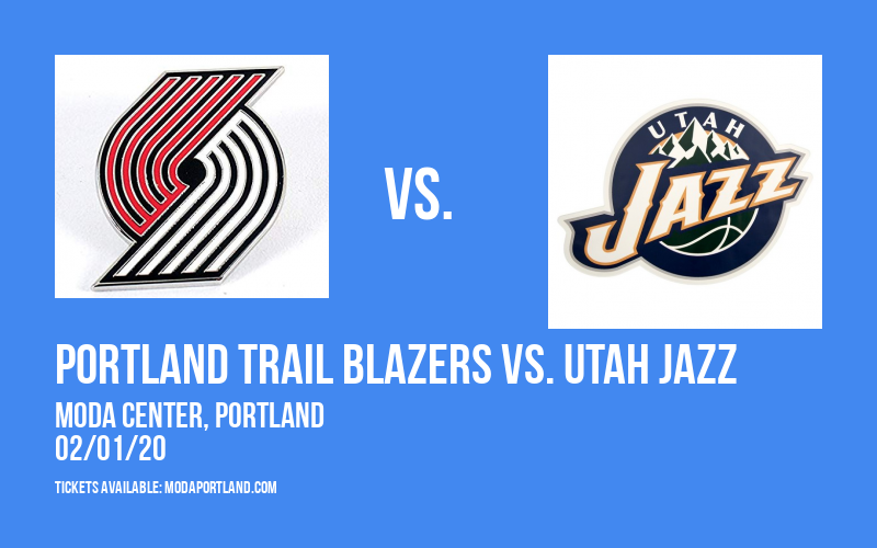 Portland Trail Blazers vs. Utah Jazz at Moda Center