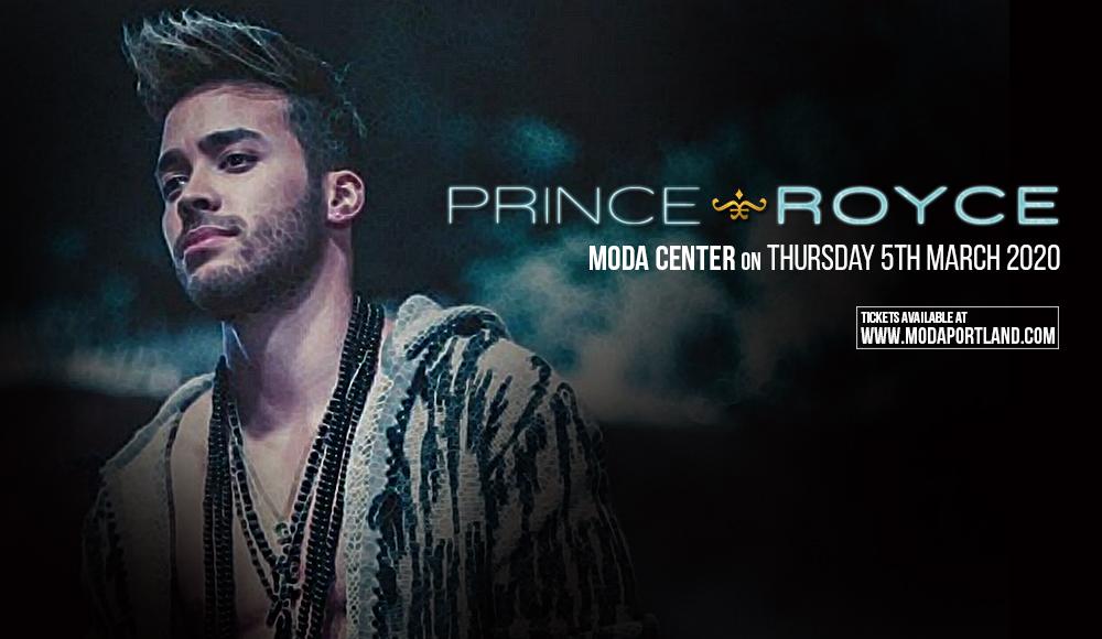 Prince Royce at Moda Center