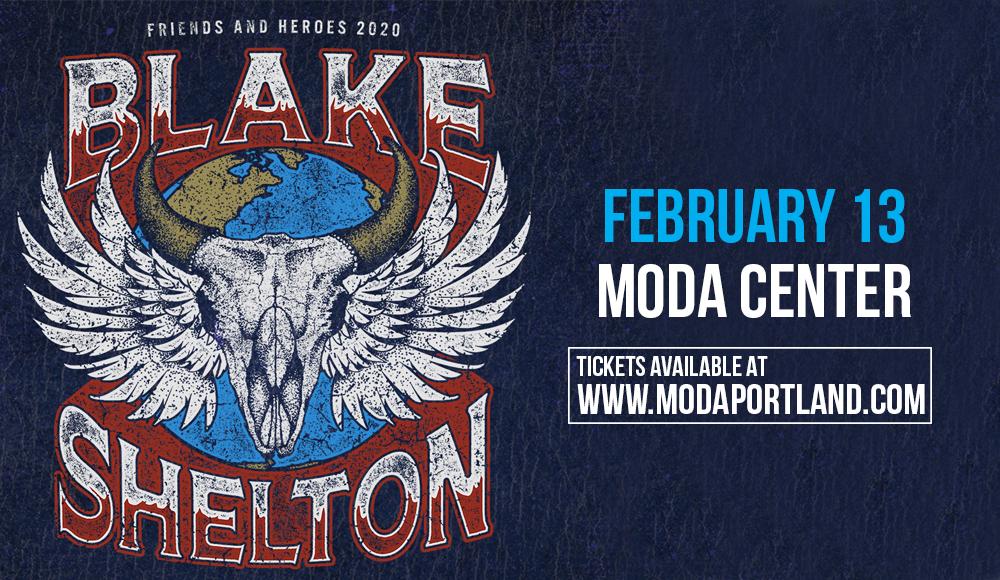 Blake Shelton at Moda Center