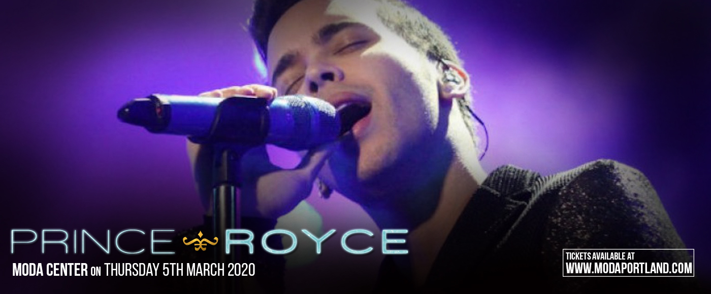 Prince Royce at Moda Center