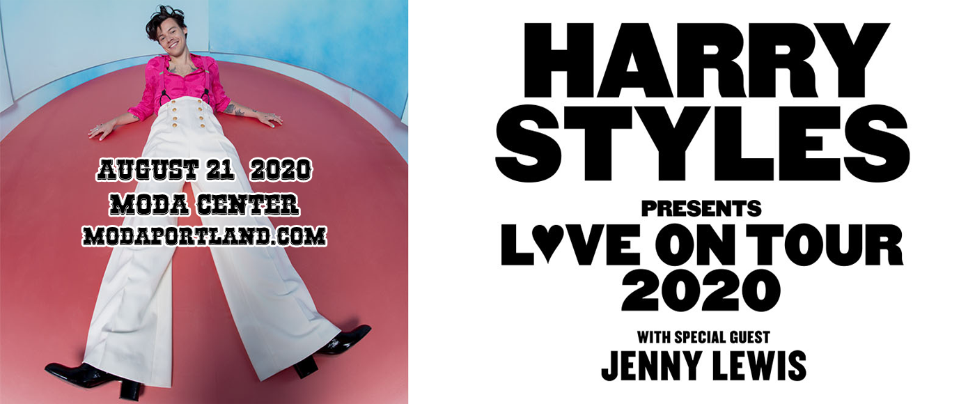 Harry Styles & Jenny Lewis at Moda Center