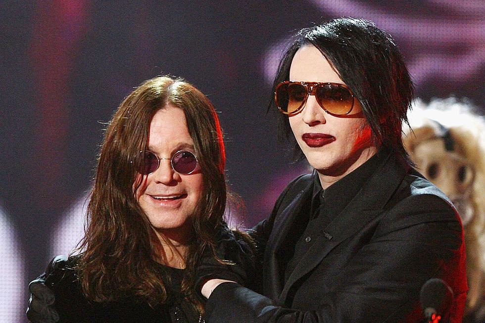 Ozzy Osbourne & Marilyn Manson at Moda Center
